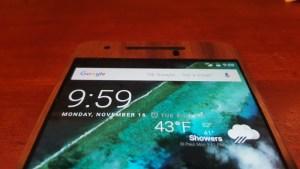 Nexus 6P Toast wooden cover front