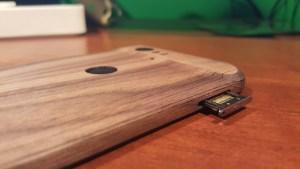 Nexus 6P Toast wooden cover SIM