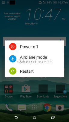 HTC One M9 Android Marshmallow Sense 7.0 screenshot 18