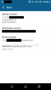 HTC One M9 Android Marshmallow Sense 7.0 screenshot 12
