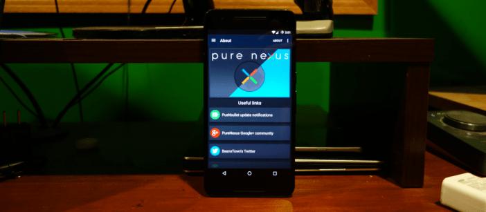 Nexus 6P Pure Nexus Custom ROM