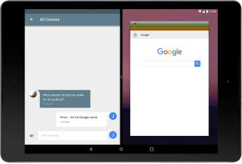 Android N Multi-window tablet