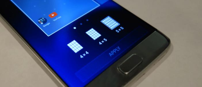 Galaxy S7 Grid Size