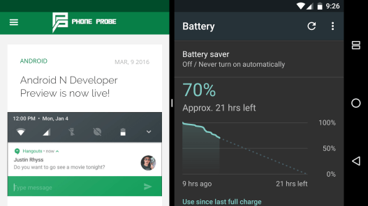 Android N screenshot 19