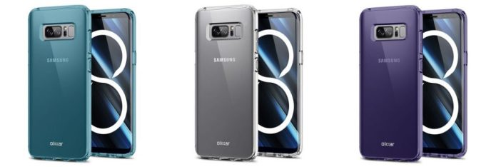Galaxy Note 8 different cases
