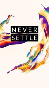 OnePlus 5 wallpaper Never Settle 4