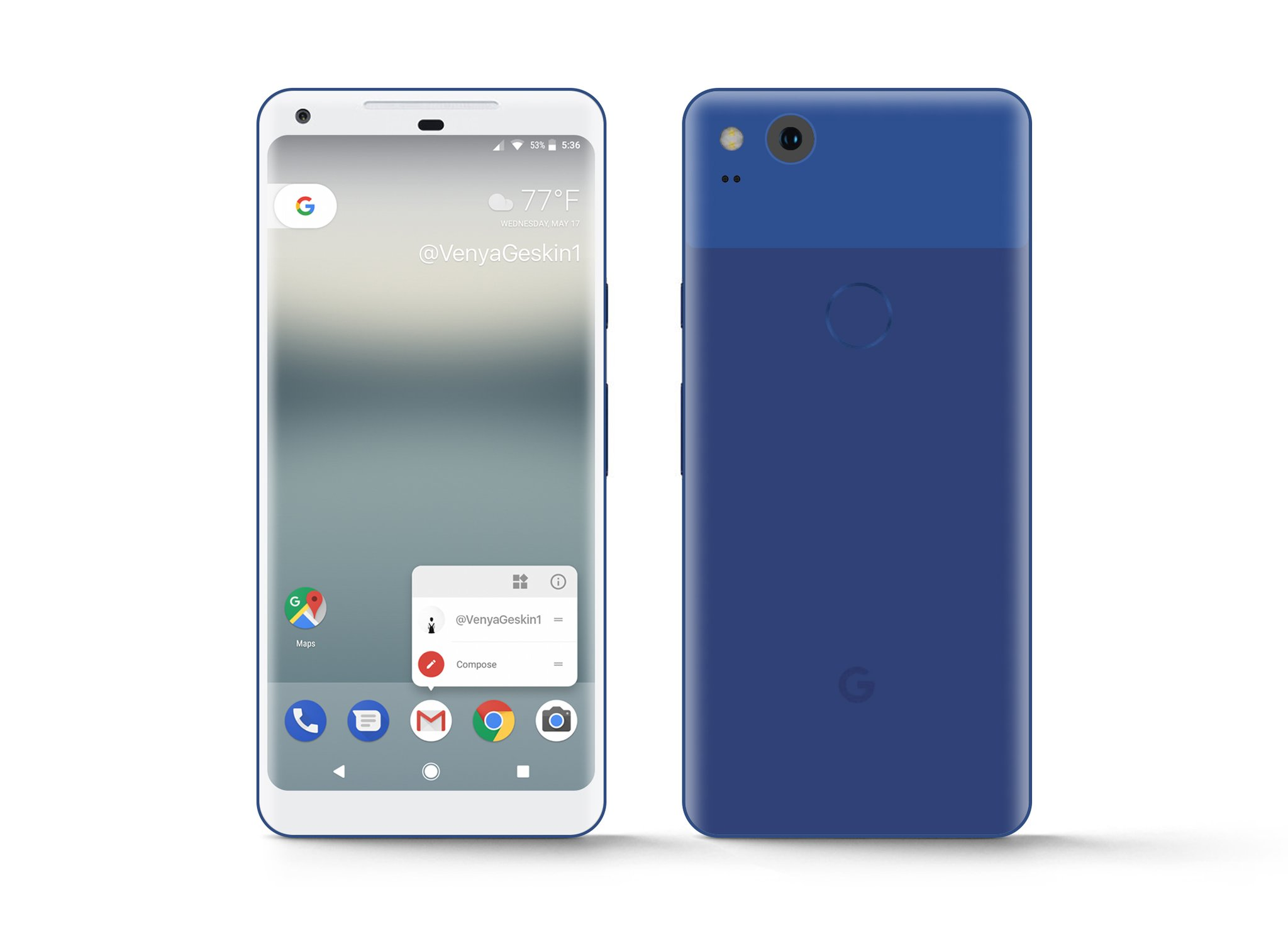 Pixel XL 2017 Really Blue