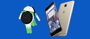 OnePlus 3 Android Oreo
