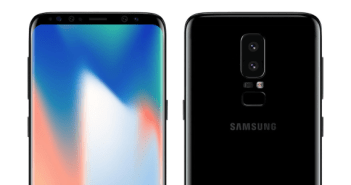 Galaxy S9 render feature
