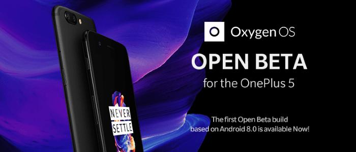 OnePlus 5 OxygenOS Open Beta