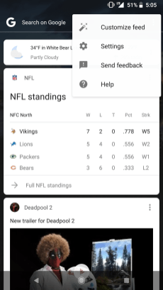 Disable Chrome Custom Tabs Google App 1