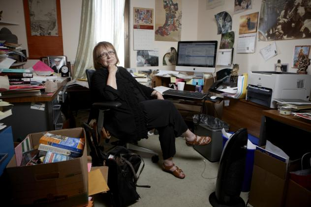 Felicia Campbell in her office