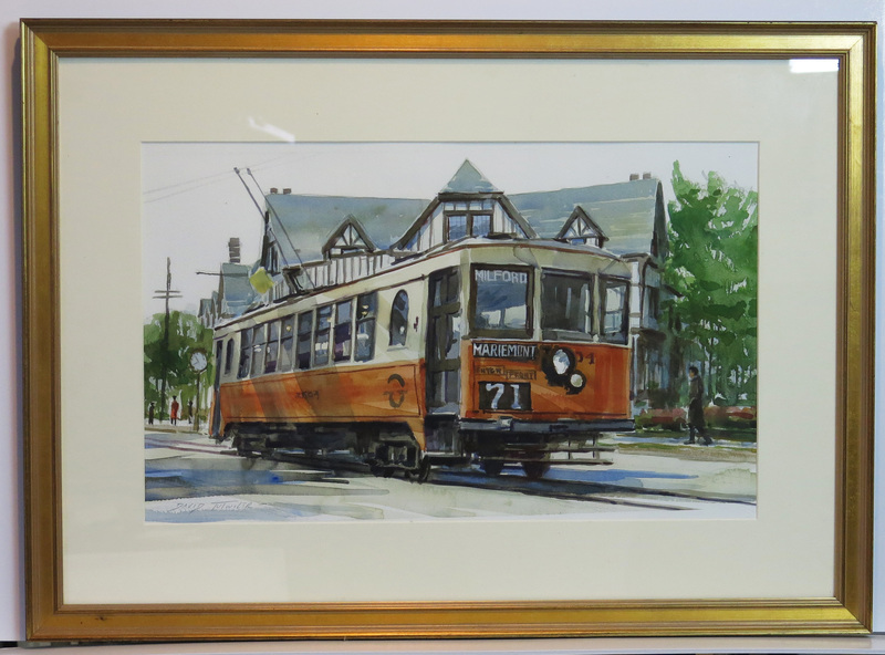 The Mariemont Trolley