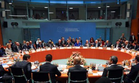 Διάσκεψη Βερολίνου Λιβύη