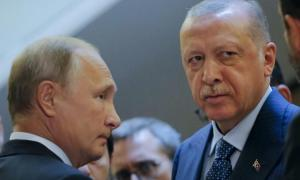 Πούτιν Έρντογαν Ρωσία Τουρκία