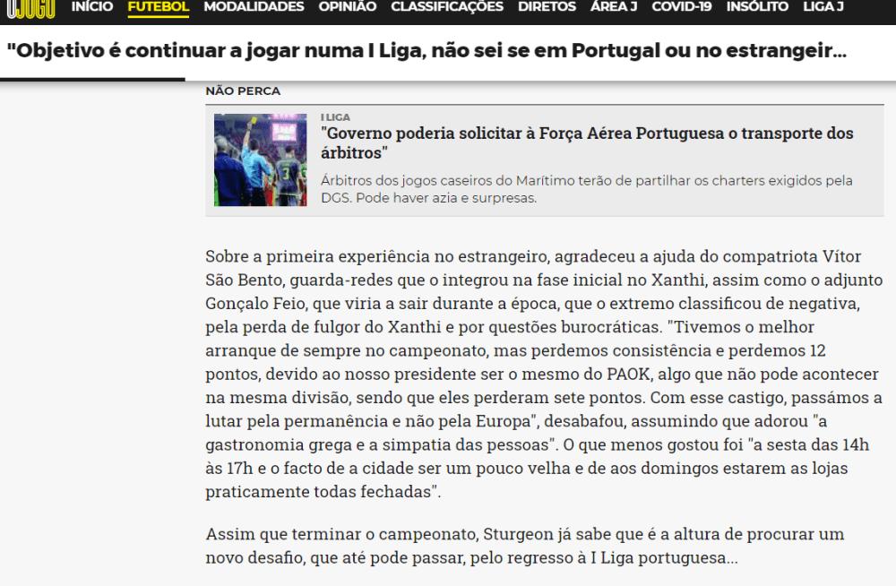 O Jogo Στάρτζεον