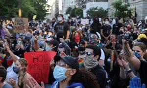 διαδηλωτές-ΗΠΑ-Τζορτζ-Φλόιντ
