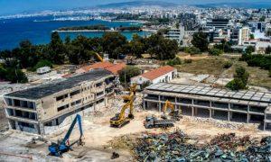 Αεροδρόμιο Ελληνικό κατεδαφίσεις