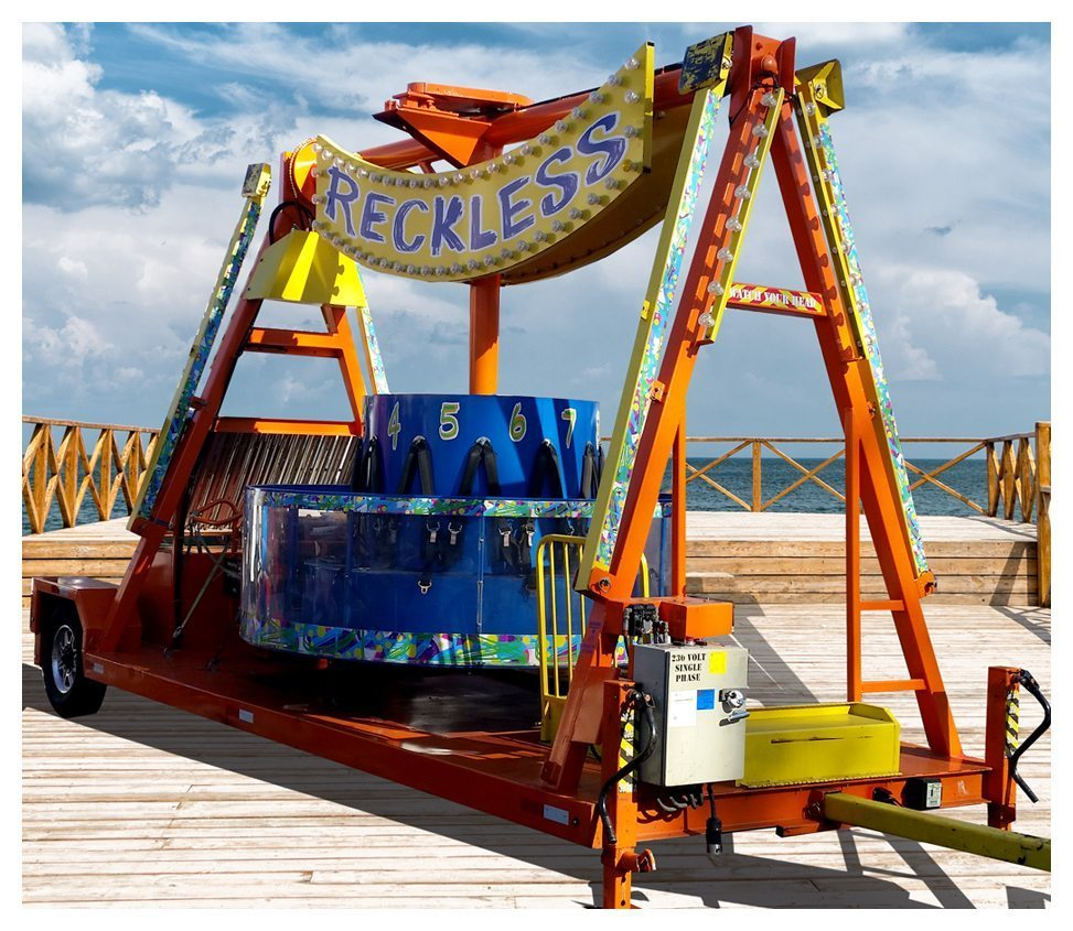 Reckless Carnival Ride Rental Fantasy World Entertainment