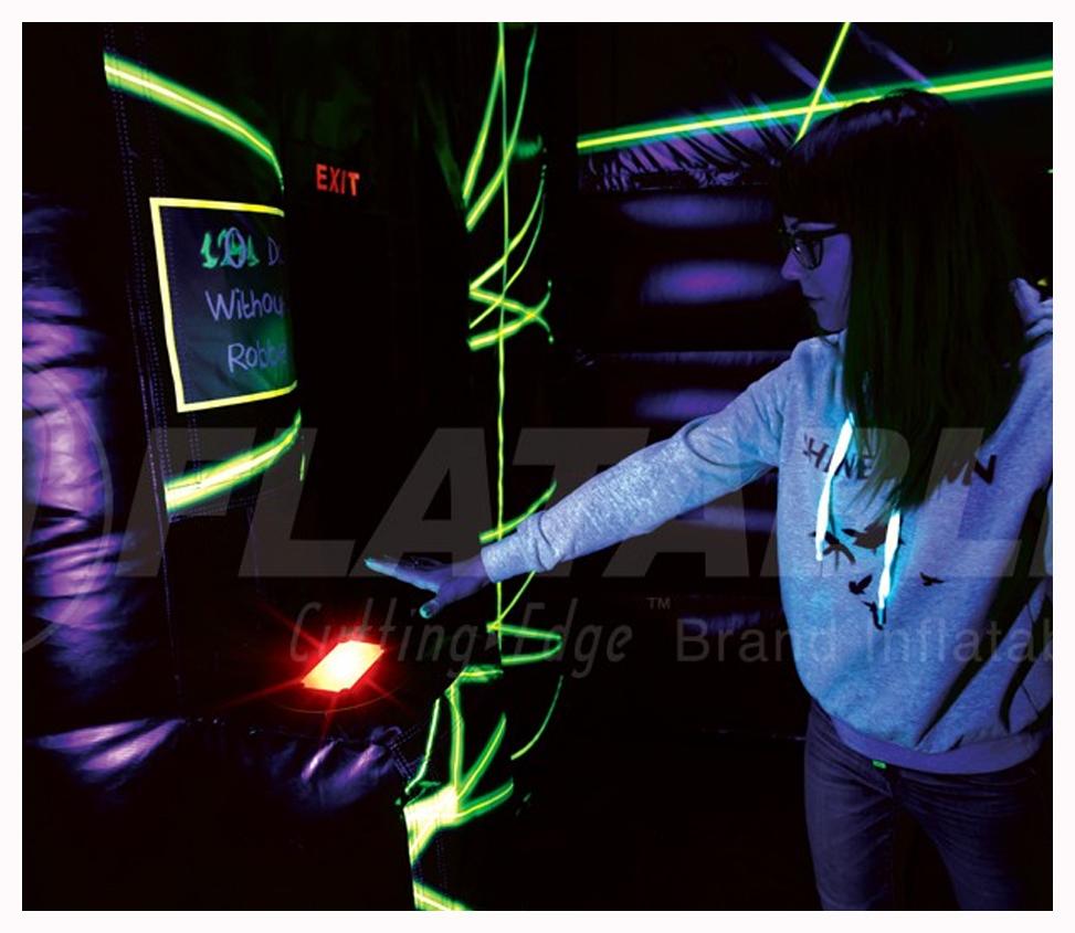 THE HEIST Laser Escape Maze Rental Fantasy World