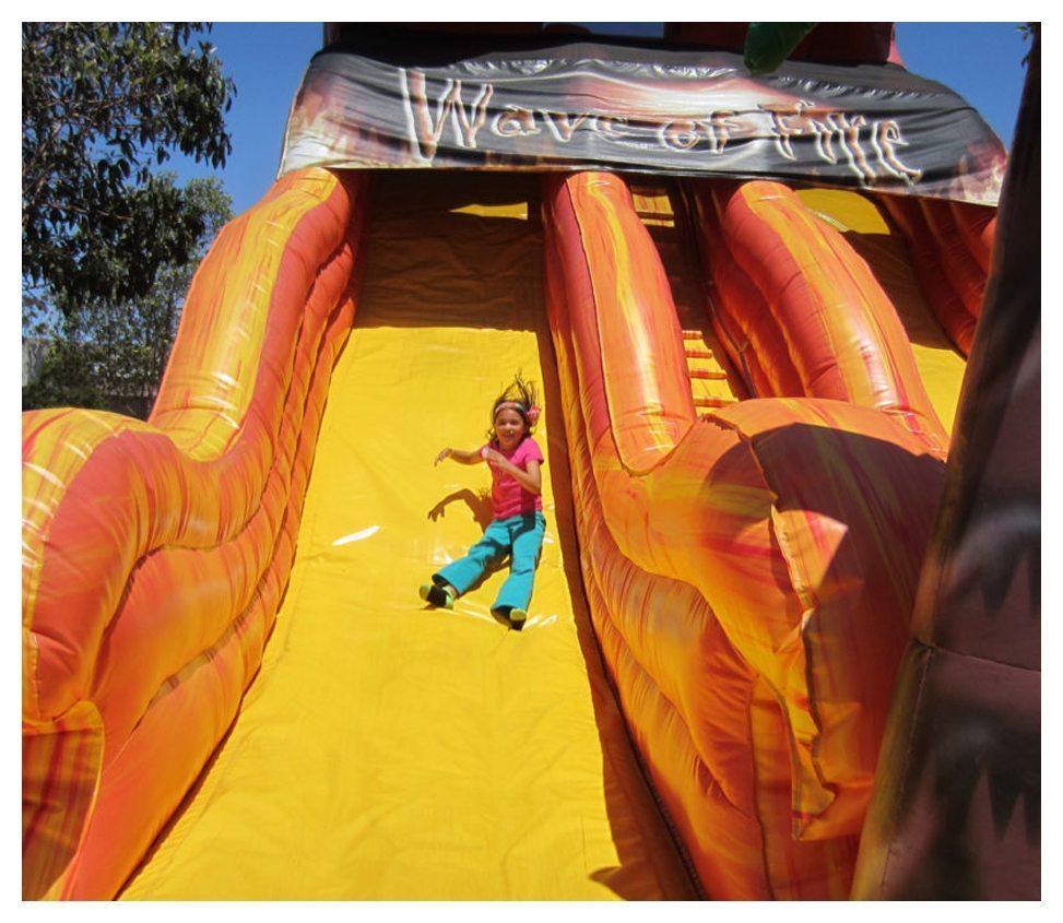 Wave Of Fire Slide Rental Fantasy World Entertainment