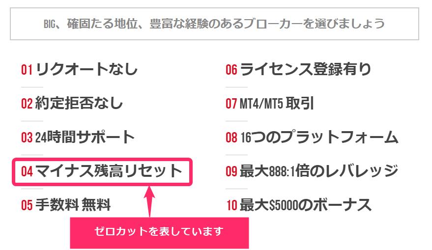 XM TOPページ