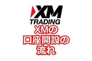 XMの口座開設の流れ