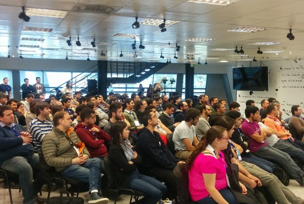 NetConfUy 2016 Charla Marcos Ezquerra Audiencia