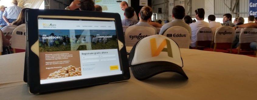 VendAgro, la primera plataforma de compra y venta de soja desarrollada por Fx2