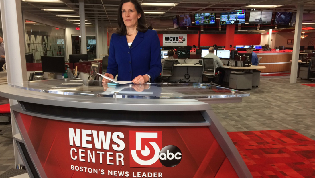 Boston station adds newsroom desk