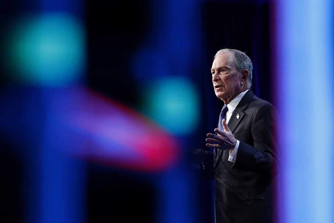 Bloomberg borrows Bernie's rhetoric – POLITICO