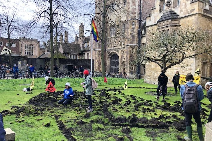 The police are in thrall to Extinction Revolt in Cambridge