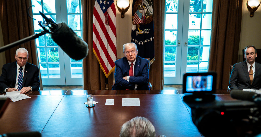 Trump Rebuffs Calls for to Carry Tariffs as Economic system Falters