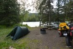 Nice camping spot by the Kenai River