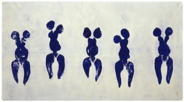 yves klein painting