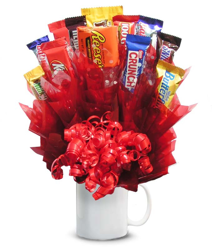 The Ultimate Candy Bouquet At From You Flowers