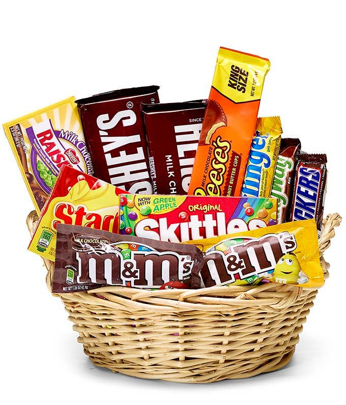 Everyones Favorite Candy Basket At From You Flowers