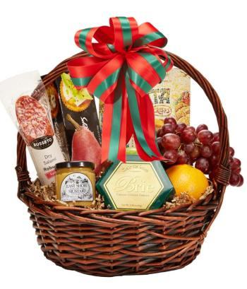 Season's Greetings Gourmet Basket