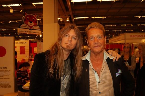 Peter Ahlborg och Björn Ranelid.