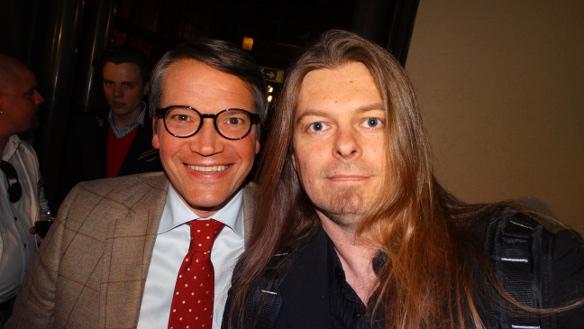 Göran Hägglund och Peter Ahlborg. Foto: Privat
