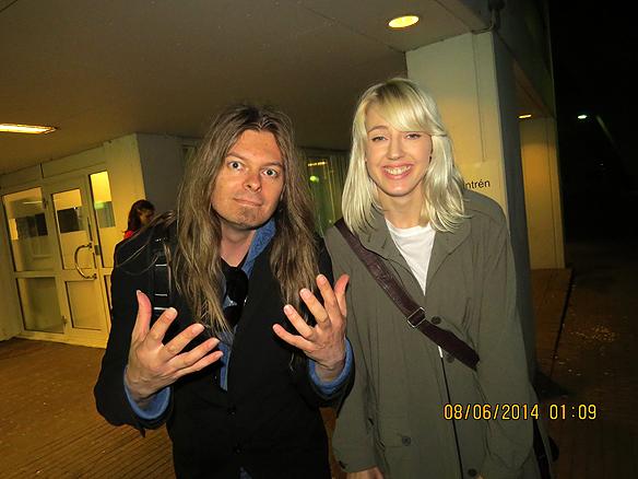Peter Ahlborg och Veronica Maggio. Foto: Charlie Källberg