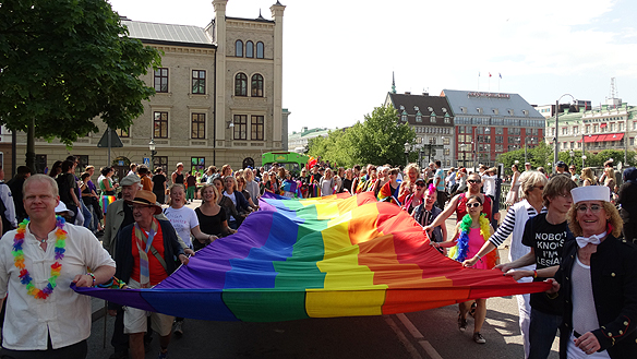 West Pride. Foto: Peter Ahlborg
