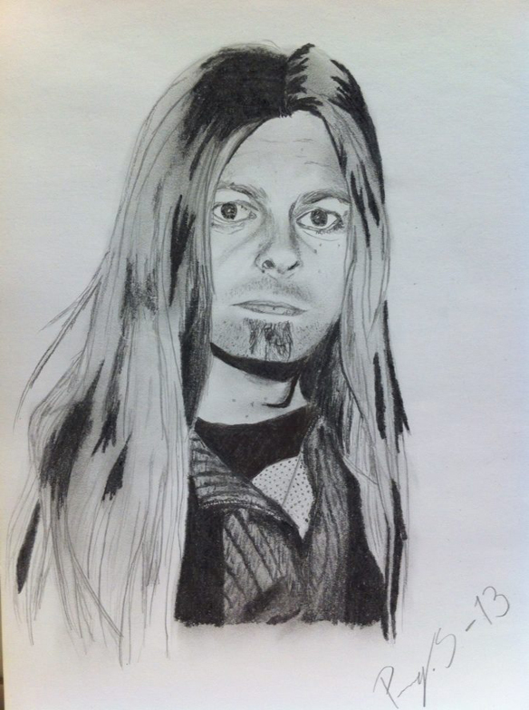 Penny Sandells teckning av Peter Ahlborg.