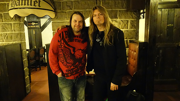 Det blev många kära minnen och skratt när vi träffades, jag Peter Ahlborg och min gode vän Hasse Sukis.