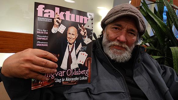 Lenarto har varit krönikör i tidningen Faktum under tio år. Foto:  Peter Ahlborg