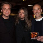 Peter Ahlborg träffar Mark Levengood och Henrik Johnsson under Mediedagarna