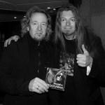 Peter Ahlborg träffar Iron Maidens gitarrist Adrian Smith