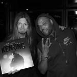 Ken Ring gav Peter Ahlborg unik skiva när de träffades