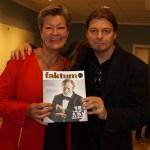 Peter Ahlborg träffade arbetsmarknadsminister Ylva Johansson