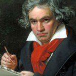 Peter Ahlborg hyllar Beethoven med egenkomponerad dikt till mästaren